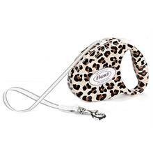 Flexi Fashion Ladies Medium 5M-25 Kg Otomatik Gezdirme Tasması Leopar Desenli