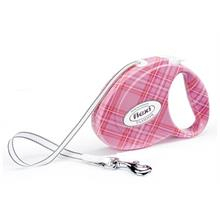 Flexi Fashion Ladies Small 3M-12 Kg Otomatik Gezdirme Tasması Pembe