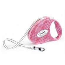 Flexi Fashion Ladies Medium 5M-25 Kg Otomatik Gezdirme Tasması Pembe