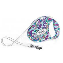 Flexi Fashion Ladies Medium 5M-25 Kg Otomatik Gezdirme Tasması Paisley